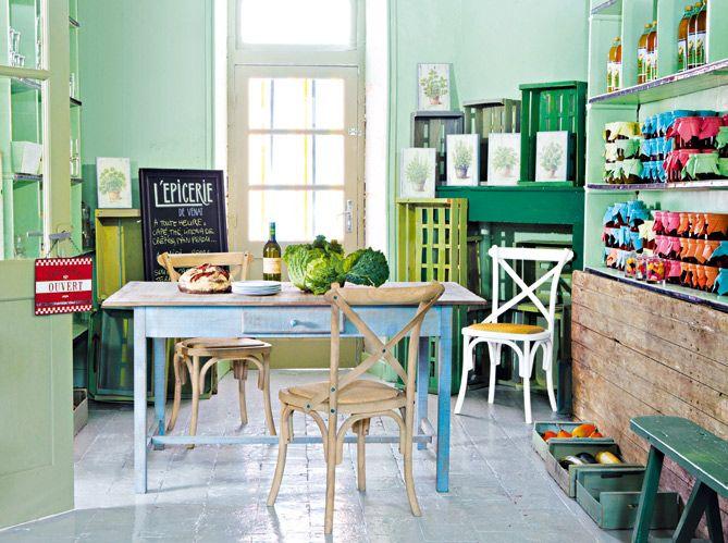 Peinture Au Sol  Toutes Nos Astuces   Cozy And Kitchens