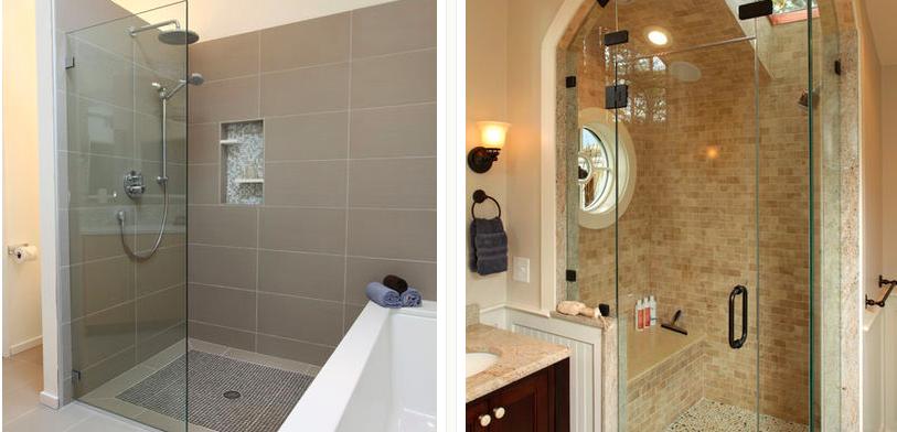 Bathroom Shower Idea Glass, Shower Bathroom Ideas
