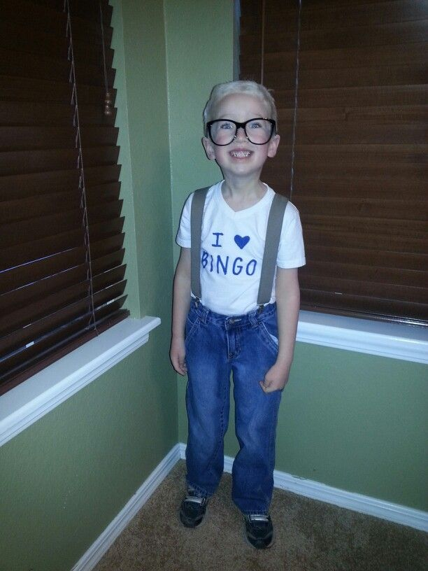 Dressed my son like he was 100 years old for the 100th day