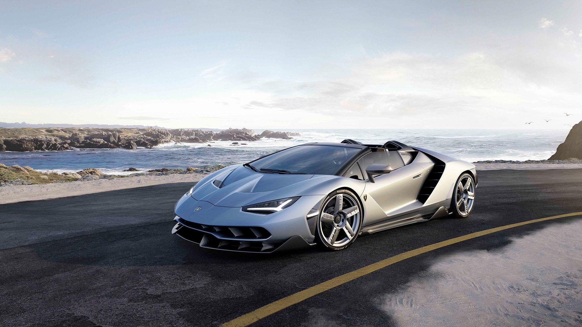 Lamborghini Centenario Roadster Le V12 Sans Le Toit Voitures