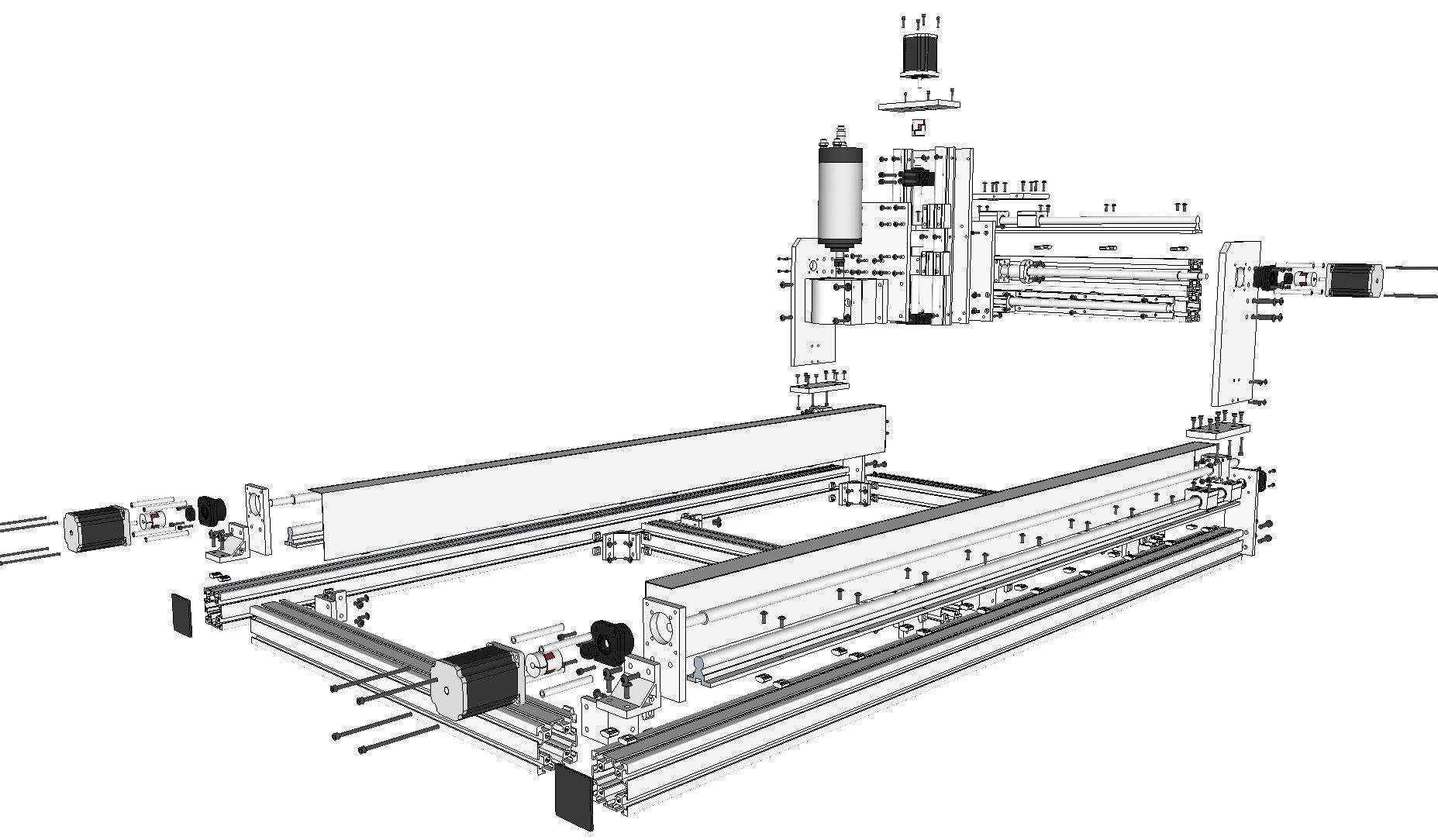 Id2cnc V 2 1 Machine Assembly Guide