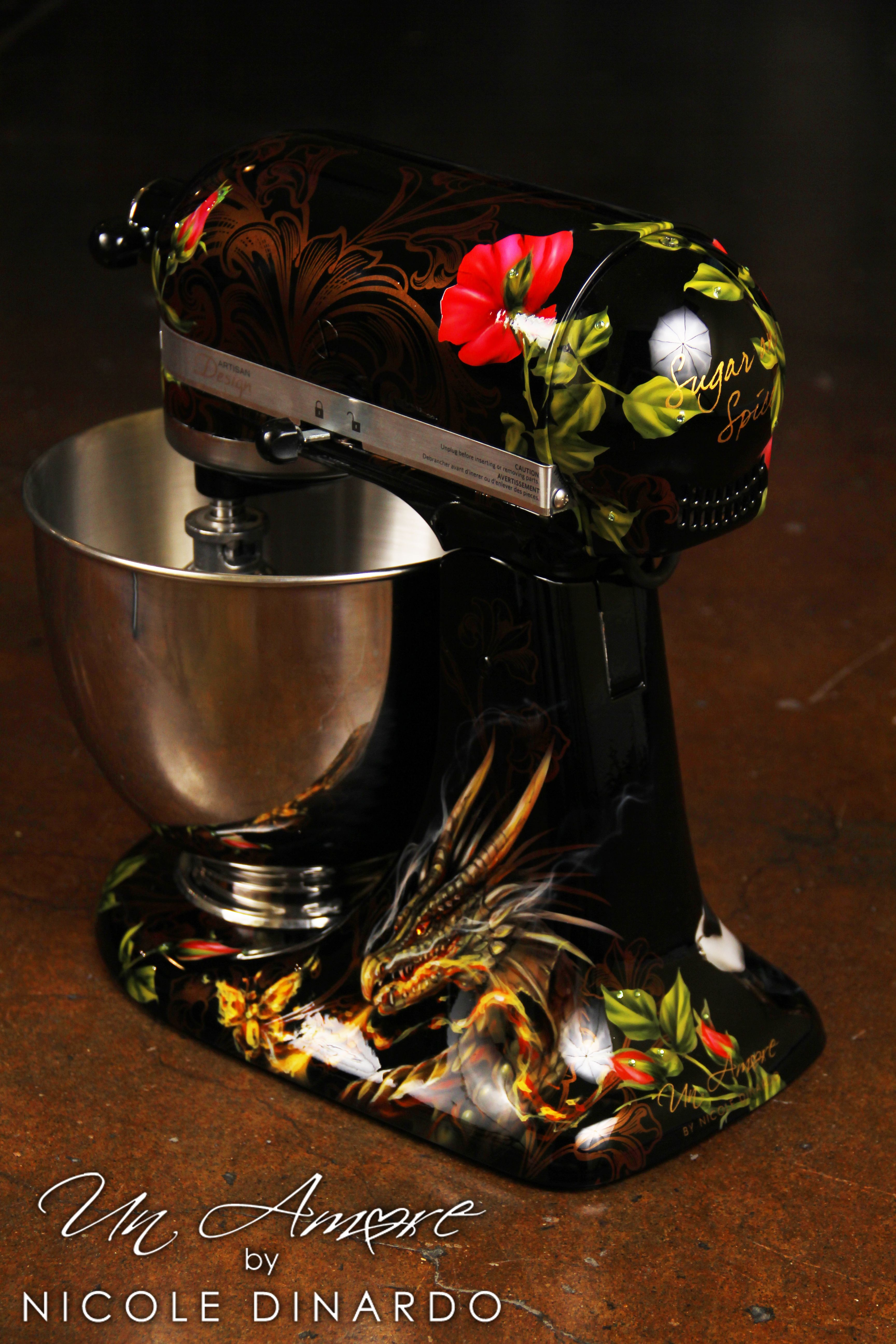 Surprising Floral Kitchenaid Mixer Another Kitchen Aid Kitchen Aid Interior Design Ideas Gresisoteloinfo
