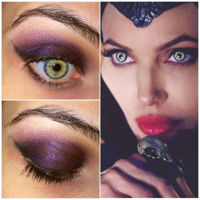 Maleficent Inspired Eyes Makeup Make Up In 2019