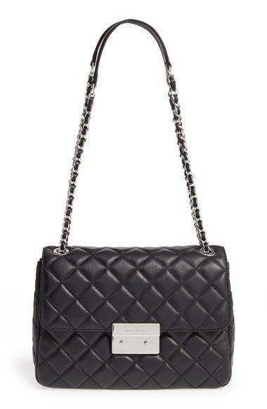 9875dcacc27ff7 MICHAEL Michael Kors 'Sloan - Extra Large' Chain Shoulder Bag   $150 ...