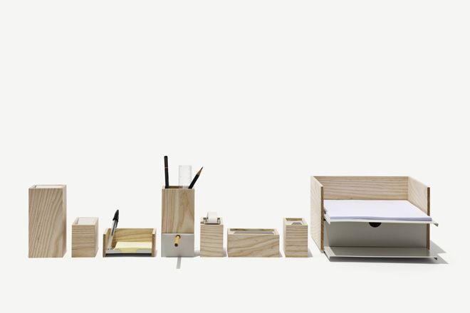 Smart And Simple Office Tools Is A Series Of Desk Accessories By