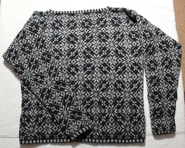 Ravelry: Baltasound Cropped Jumper pattern by Ann Feitelson