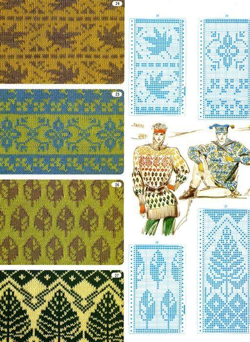 Интарсия | вязание | Pinterest | Fair isles, Knitting charts and ...