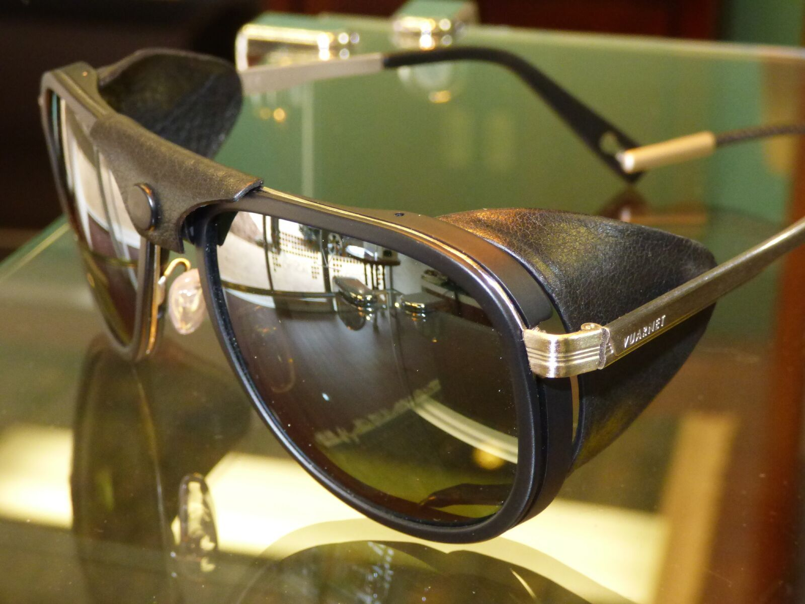 Chocoholic alert. With all things chocolate on our minds, check out these gorgeous chocolate toned Vuarnet sunglasses (which once featured in a James Bond movie) ... guaranteed to make your Easter extra delicious. Sanctuary Cove Optical