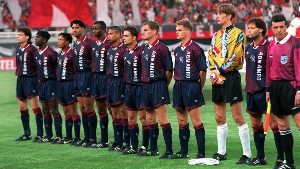 Resultado de imagen para ajax campeon 1995