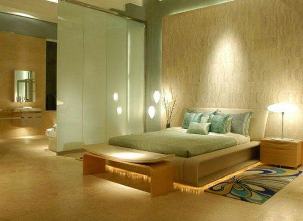 harmonies relaxe du chambre à coucher en couleur verte chambre 3