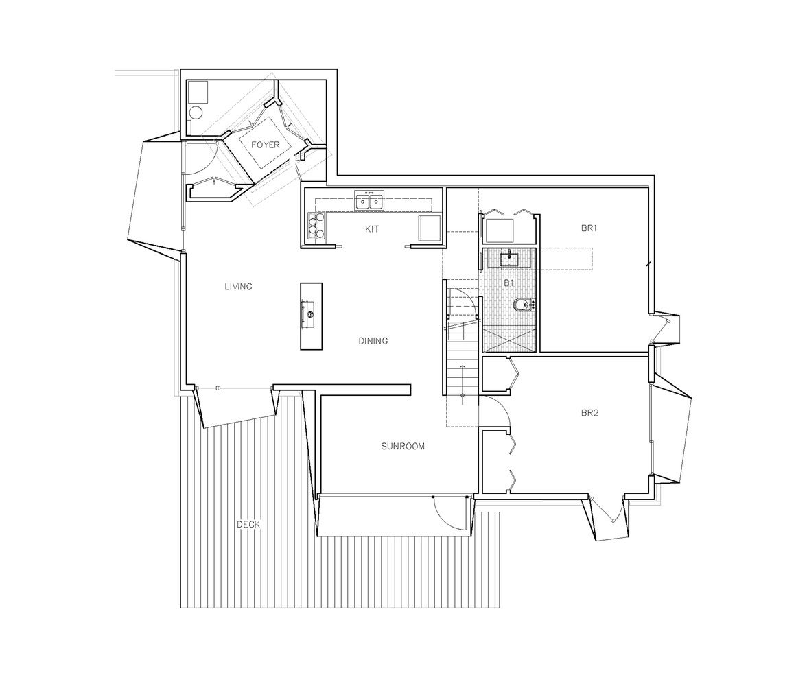 Gallery Of Lake House Taylor And Miller Architecture And Design 31 Floor Plans Lake House Ground Floor Plan