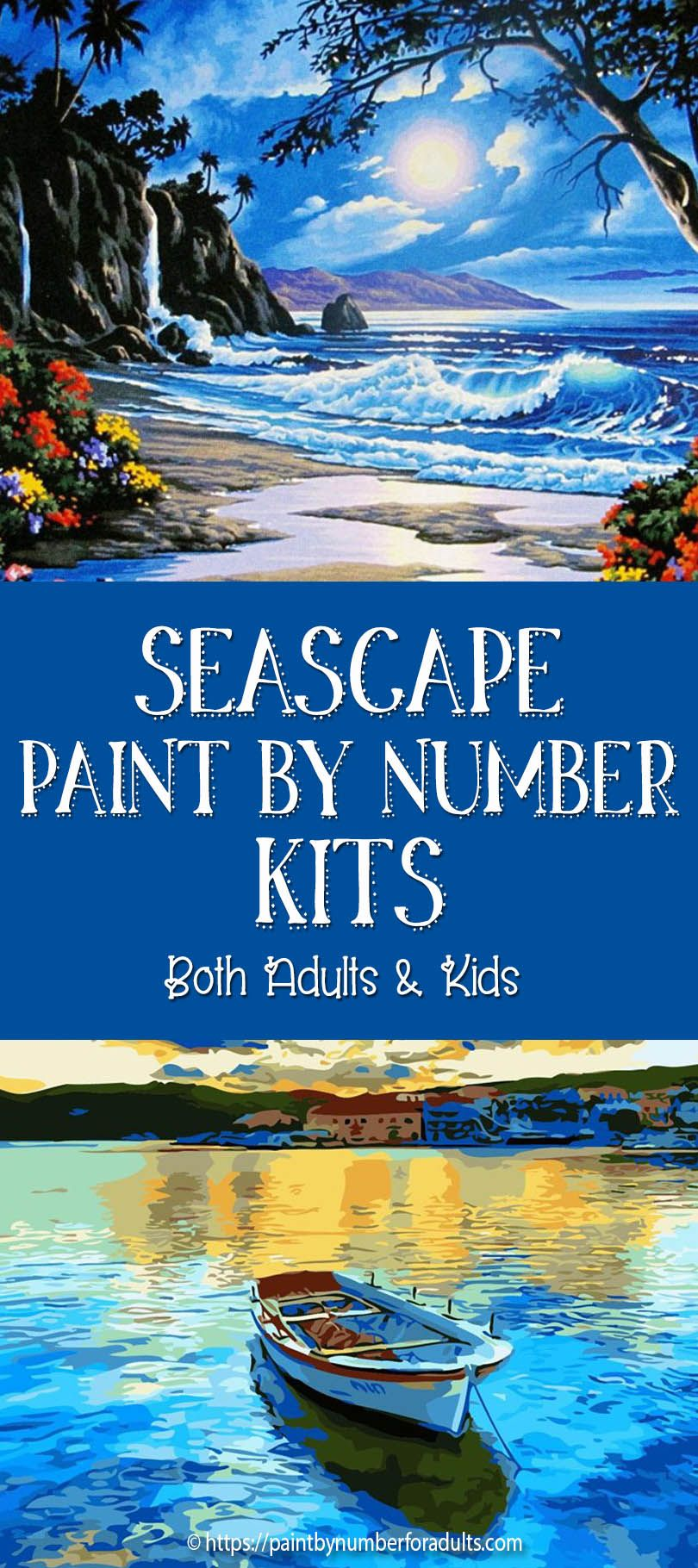 Seascape Paint By Number Kits For Adults in 2020 (With