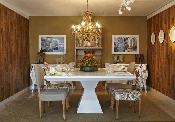 Tendência - mix de cadeiras em mesas de sala de jantar e cozinhas!