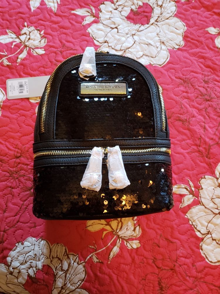 d47f5127472 Wilsons Leather Womens Marc New York Sequin Faux leather Backpack  fashion   clothing  shoes