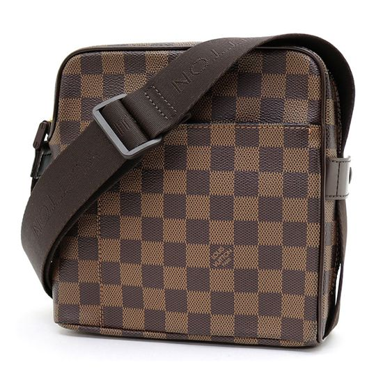 Louis Vuitton N41442 Olav PM Messenger Bag Damier Ebene Canvas ... c0b0247ff1671