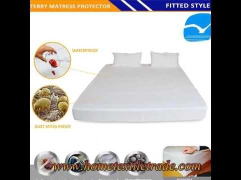 Cooling Bamboo Waterproof Breathable Mattress Protector Mattress