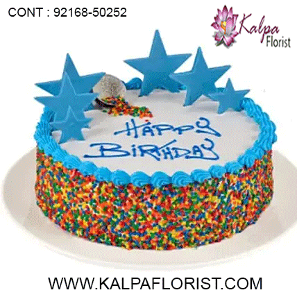 Wondrous Colorful Rainbow Cake Send Cakes To Australia Birthday Cake Funny Birthday Cards Online Fluifree Goldxyz