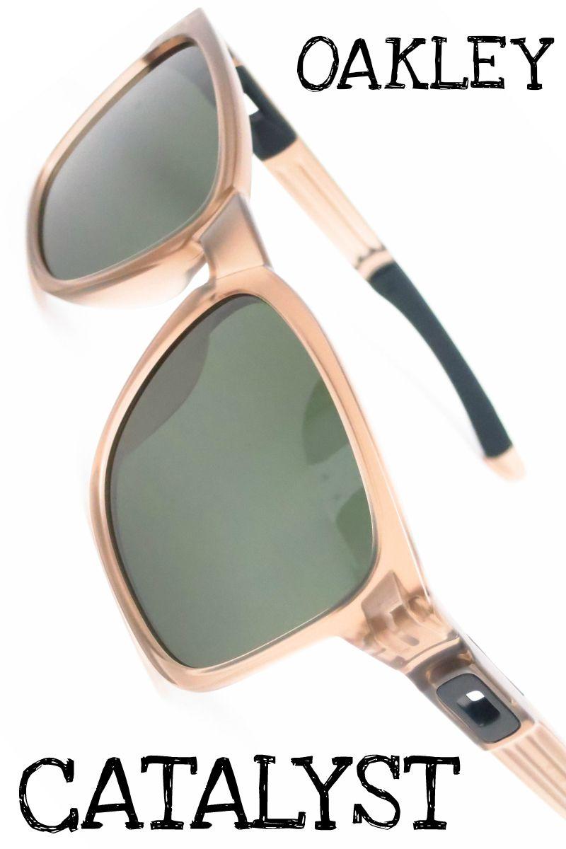 c4d32e63dd9 Oakley Catalyst OO9272-01 Sepia Sunglasses in 2019