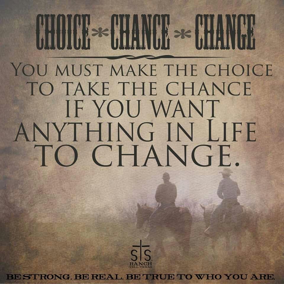 Take a chance bro
