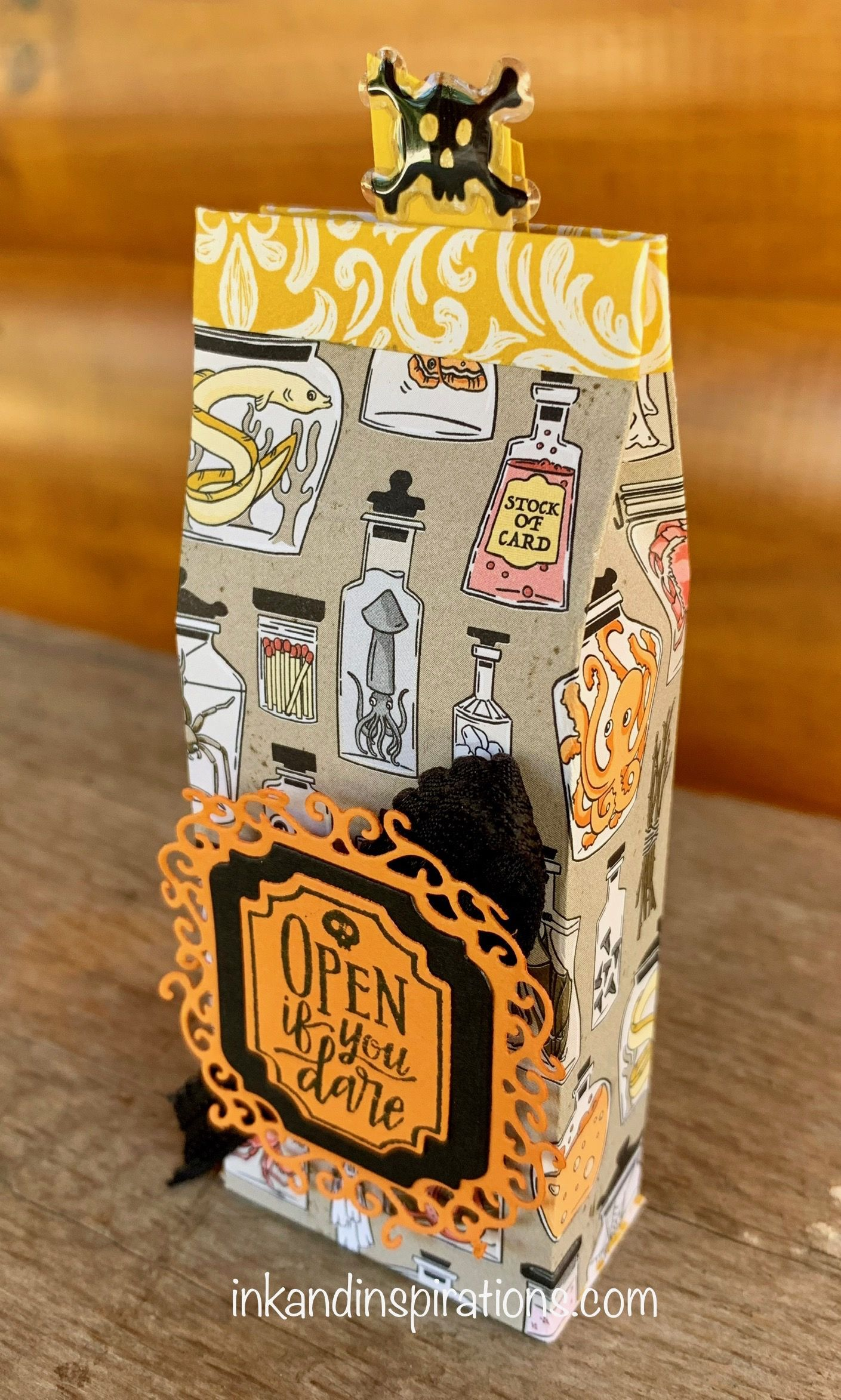12 Weeks of 2019 Stampin' Up! Halloween Projects Week 2