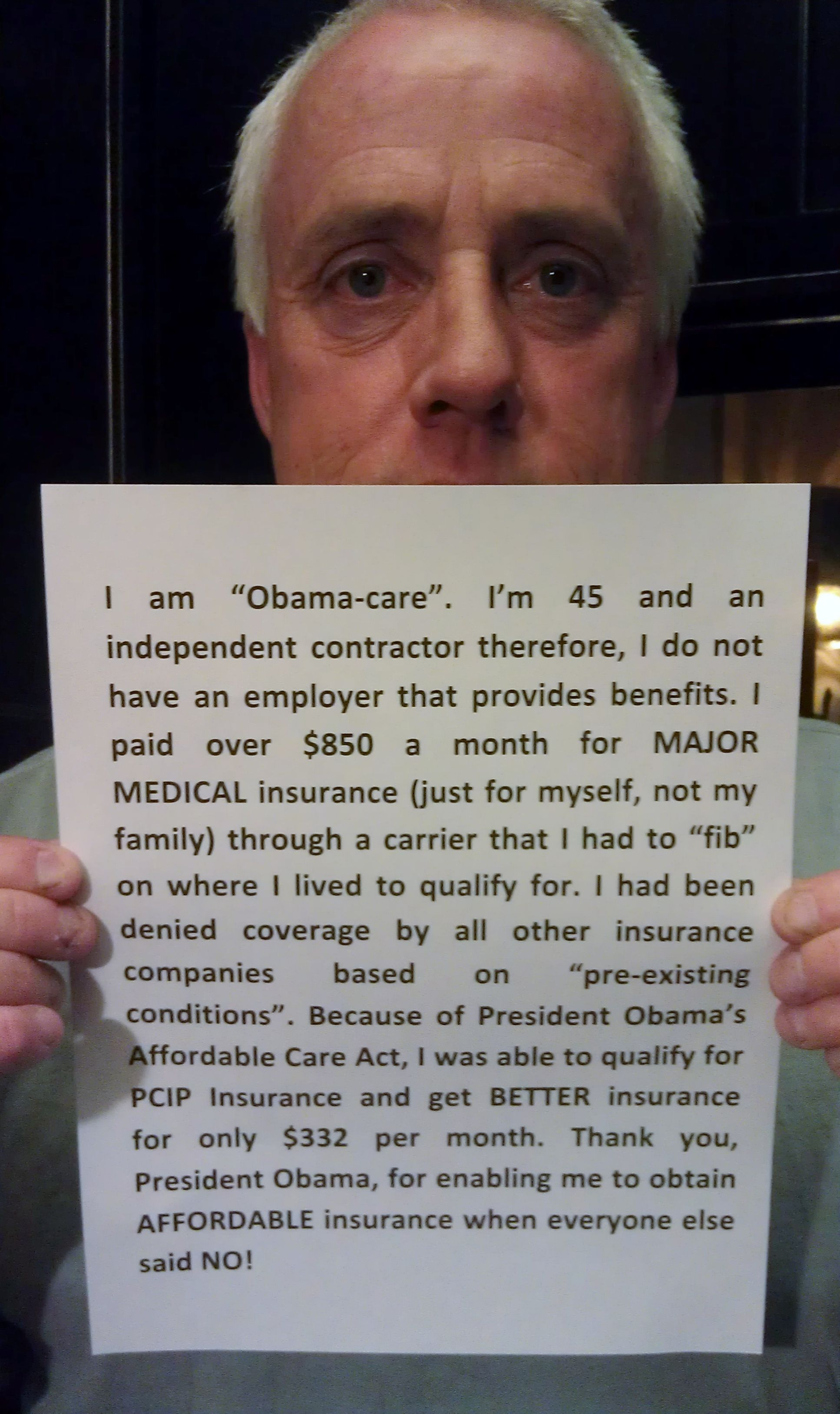 The Affordable Care Act does good.