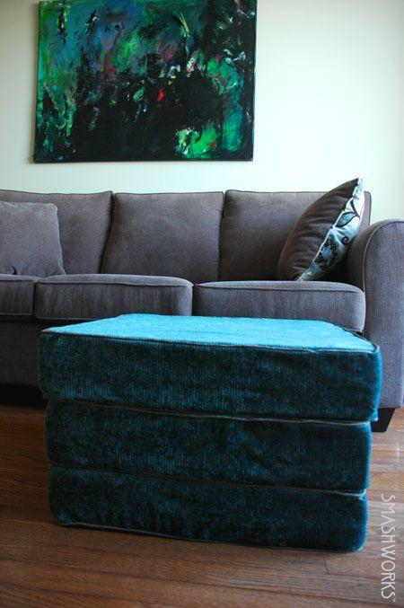 Ikea Beddinge Hack Upcycled Floor Cushions Diy Futon Diy