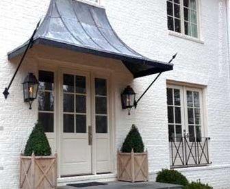 Posts About Half Timber Construction On Inside Arciform Door Awnings Front Door Awning Metal Door Awning