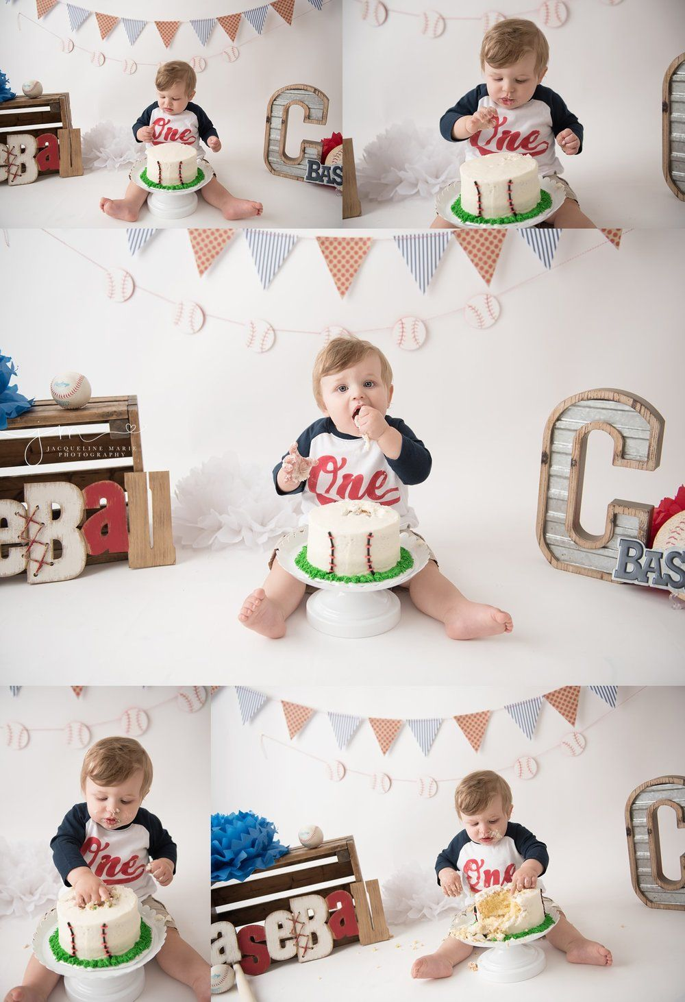 Baby Photographer Columbus Ohio Cake smash photography Columbus