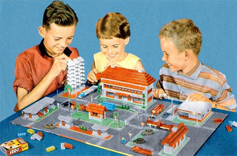 The Town Plan - Legos