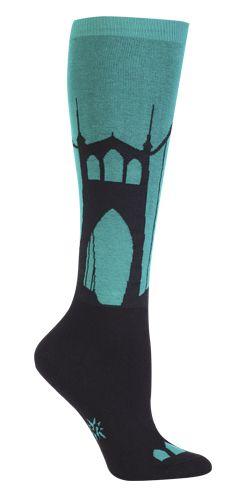 Sock It to Me | Women's Knee High | Put a Bridge On It