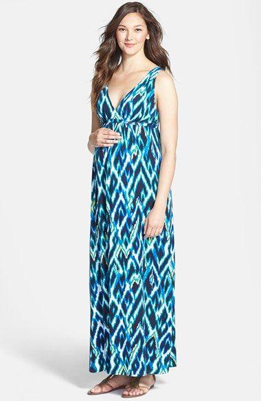 78ed28a2c Tart Maternity 'Chloe' Print Jersey Maternity Maxi Dress available at # Nordstrom