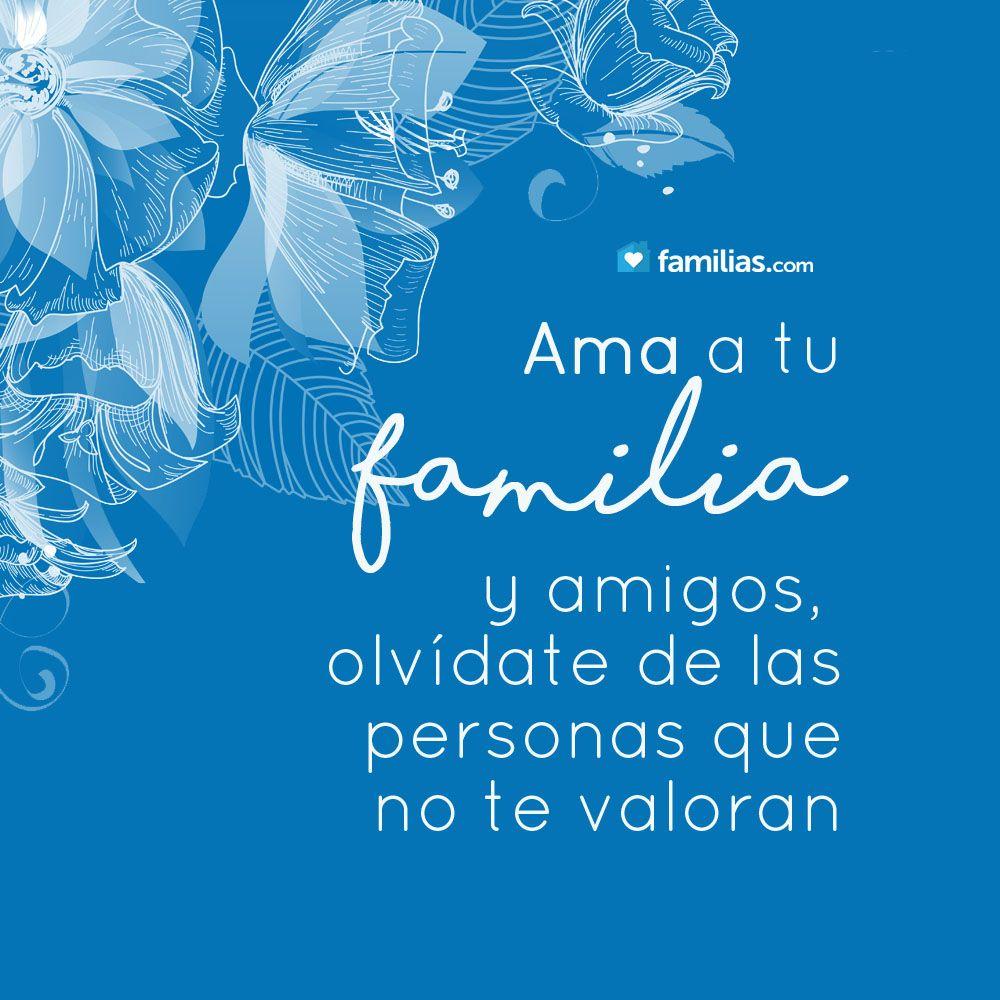Ama a tu familia