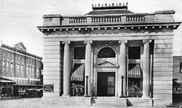 Ocala National Bank In 1911 K Ocala Old Florida Vintage Florida