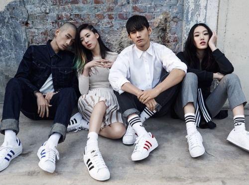 adidas superstar korea