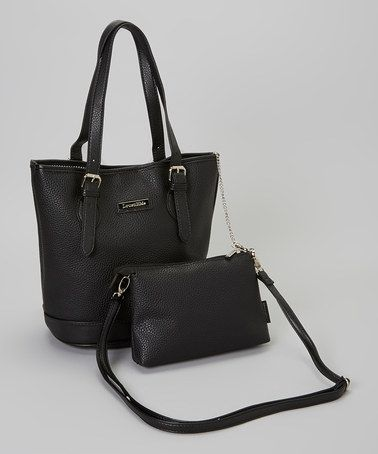 Take a look at this Black Clovelly Bucket Bag by LouenHide on #zulily today!
