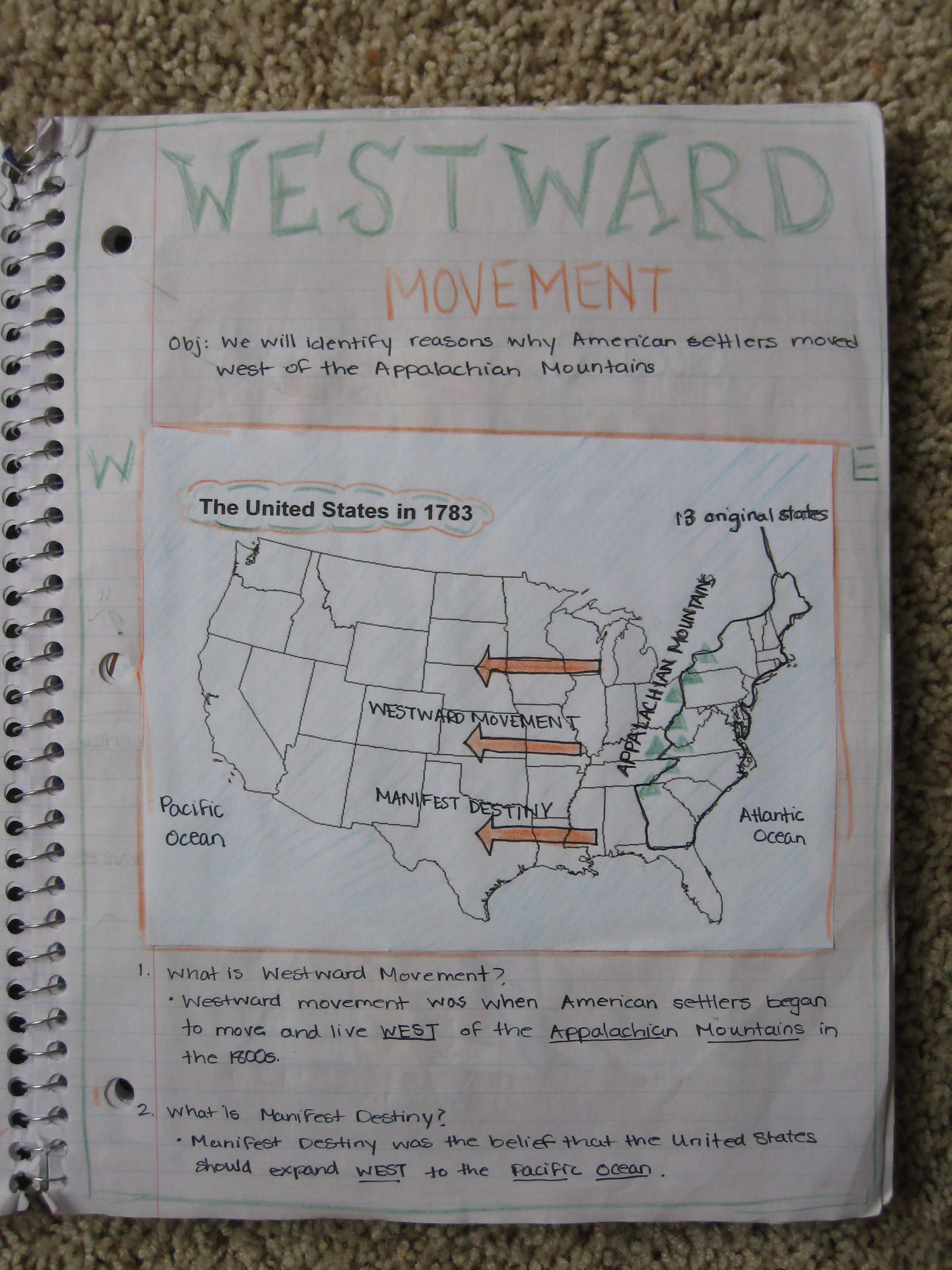 5th Grade Interactive Social Studies Notebook WOW