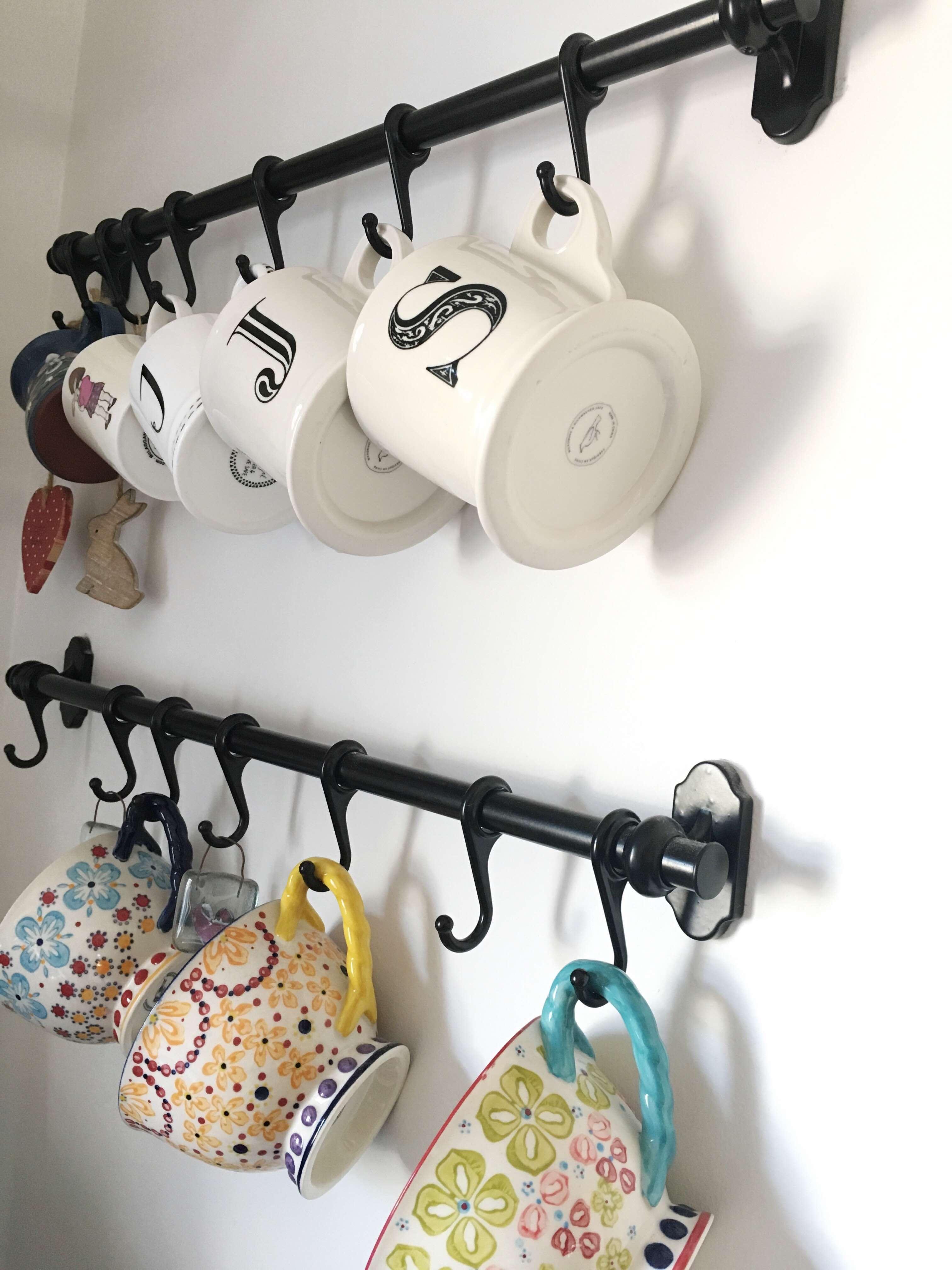 Five Steps To A More Organized Kitchen Kitchen Organization Coffee Bar Home Kitchen Storage Organization