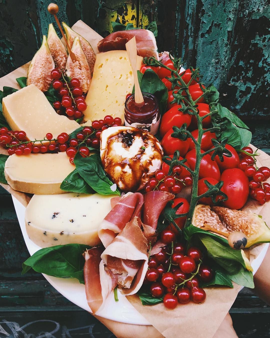 Italian Cheese And Charcuterie Plate By Grilledcheesesocial Cheeseplate Cheeseboard Charcuterie Che Cheesy Recipes Cheese Tasting Blind Wine Tasting Party