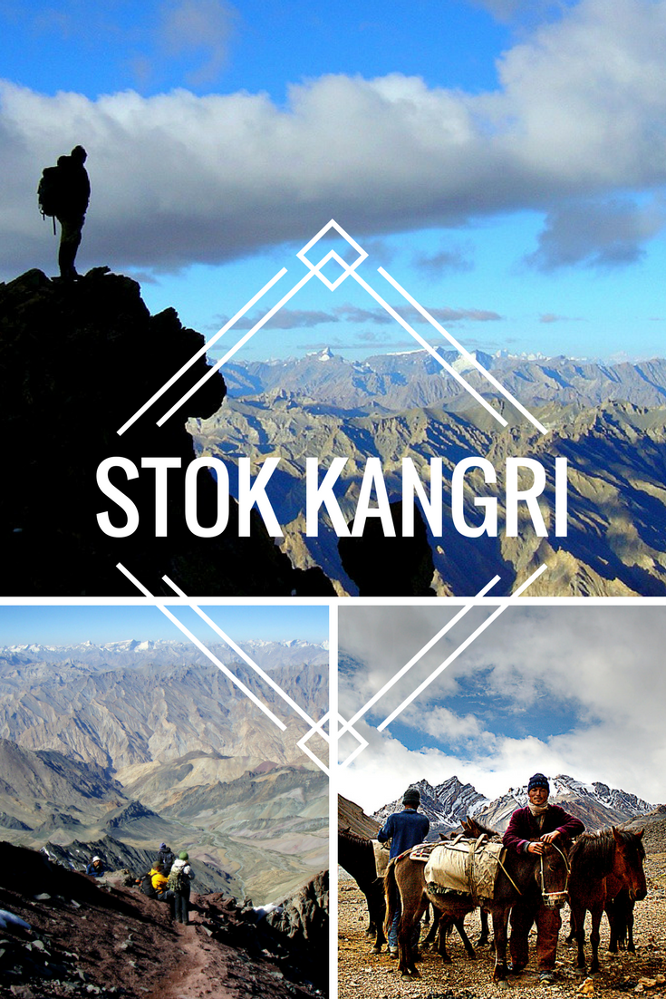 """""""I boldly walked across busy streets in Delhi, peed on cliff edges, got to the top of Stok Kangri and nearly saw the Dalai Lama.That's another story......"""" Read all about Olive's adventures on her way to the summit of Stok Kangri in the Indian Himalayas."""