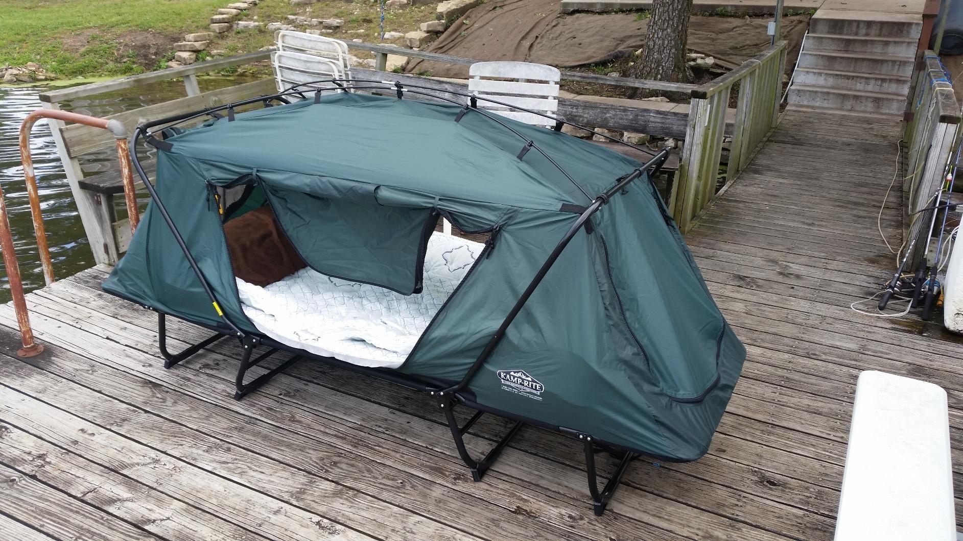 Amazon Com Kamp Rite Oversize Tent Cot Sports Outdoors