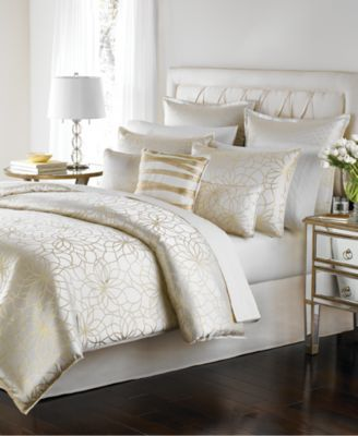 Martha Stewart Collection Radiant Day 9 Pc Queen Comforter Set Home Sweet Home Bedroom