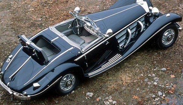 Type Mercedes Benz 540K Spezial Roadster Year 1936 Location Date Of Auction Pebble Beach 2012 Price 1177 Million