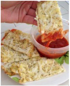 Cheesy Cauliflower Bread Sticks Recipe Appetizers Food