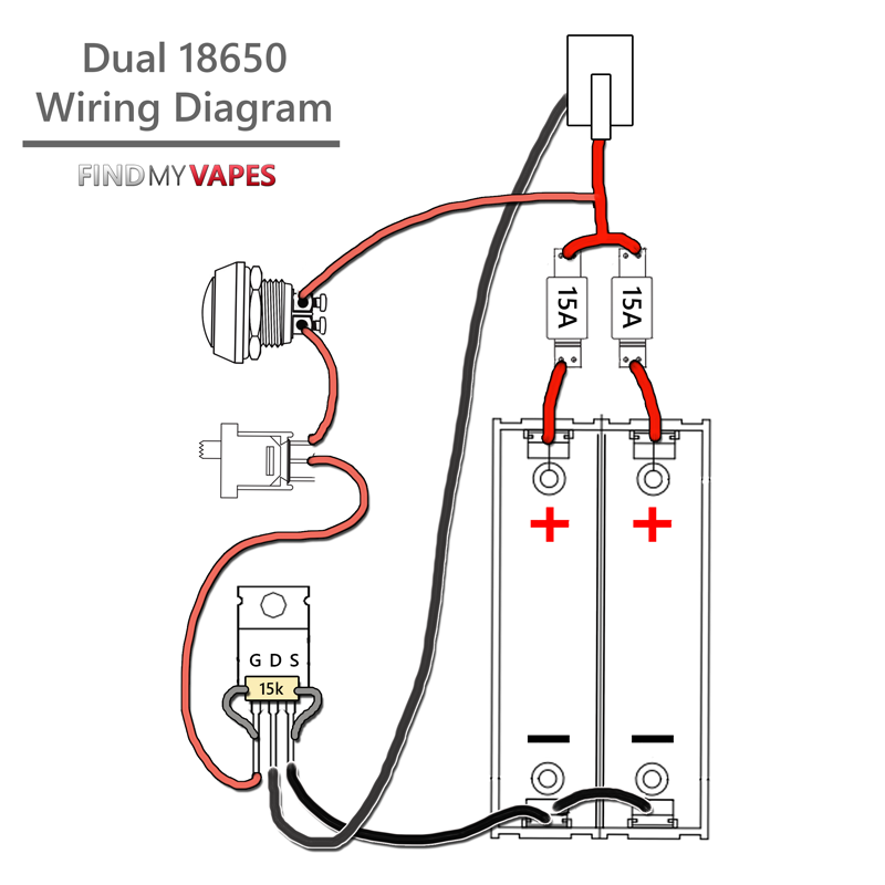 wiring diagram for unregulated box mod