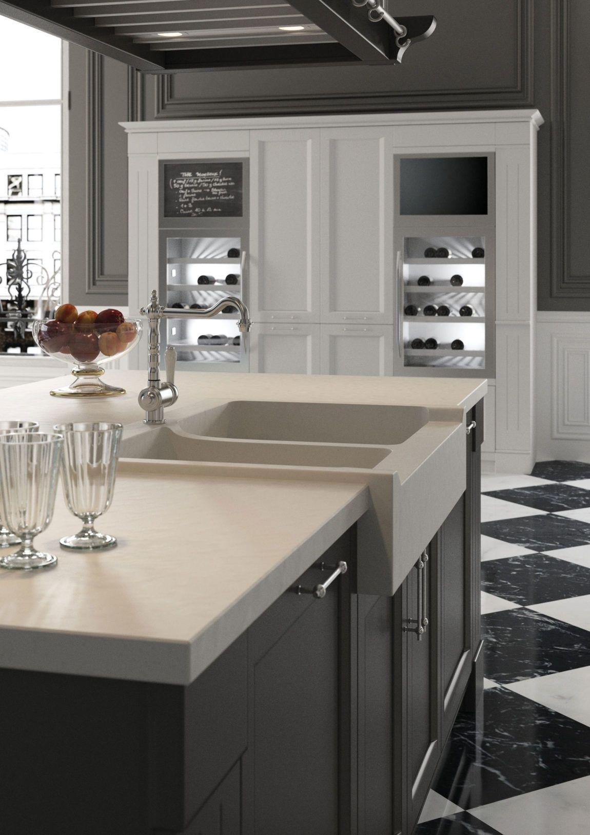 Minacciolo Designs an Exquisite Apartment in Paris | Kitchen ...