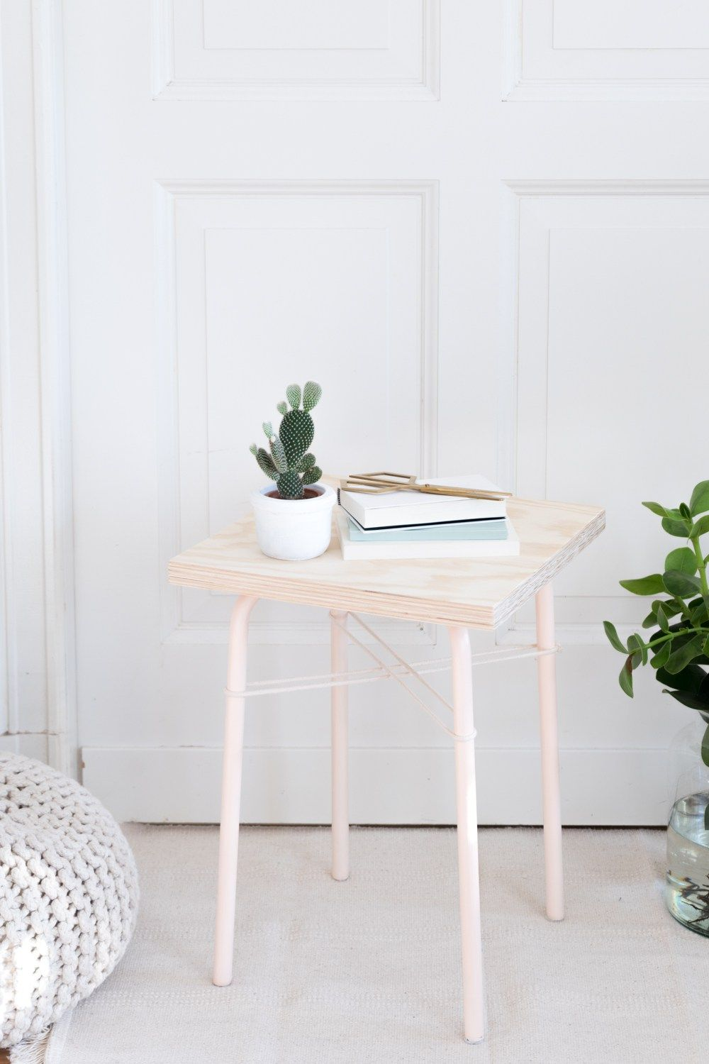 Diy Blog Möbel Easy Ikea Hack Mit Hocker Marius Nude Plywood