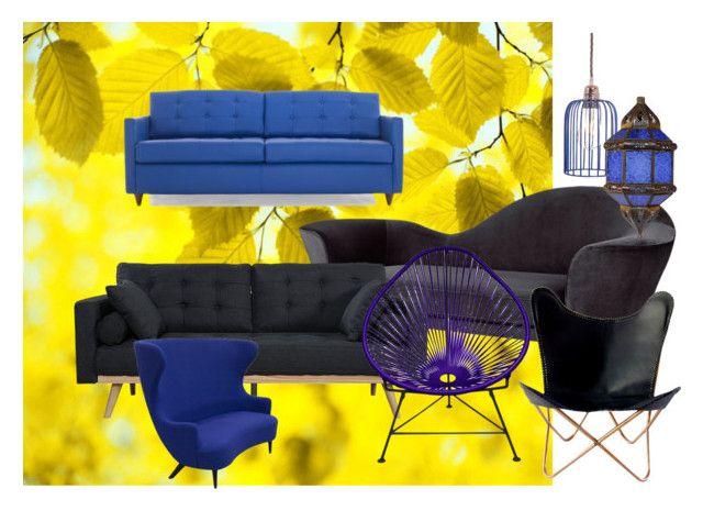 """סתווית"" by saharsodit on Polyvore featuring interior, interiors, interior design, home, home decor, interior decorating, Gubi, Tom Dixon, Joybird and Innit"