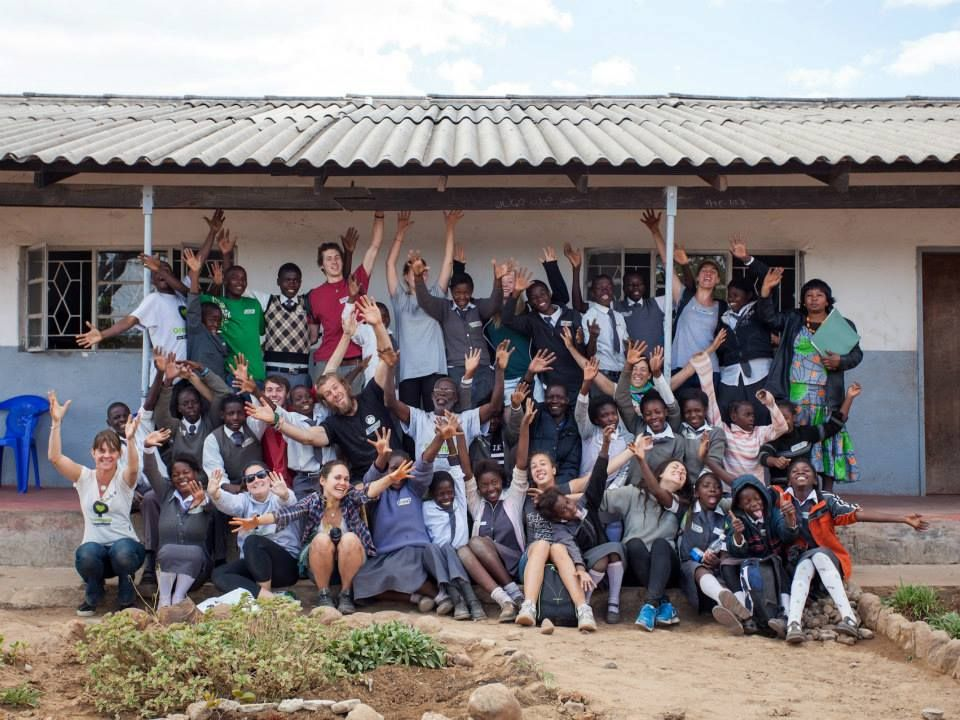 The end of a great planting day at Palmgrove Basic where we planted 30 trees with some wonderful kids! Picture by Ricarado