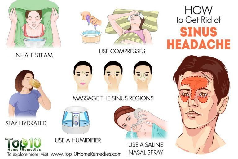 How to get rid of a sinus headache without medicine