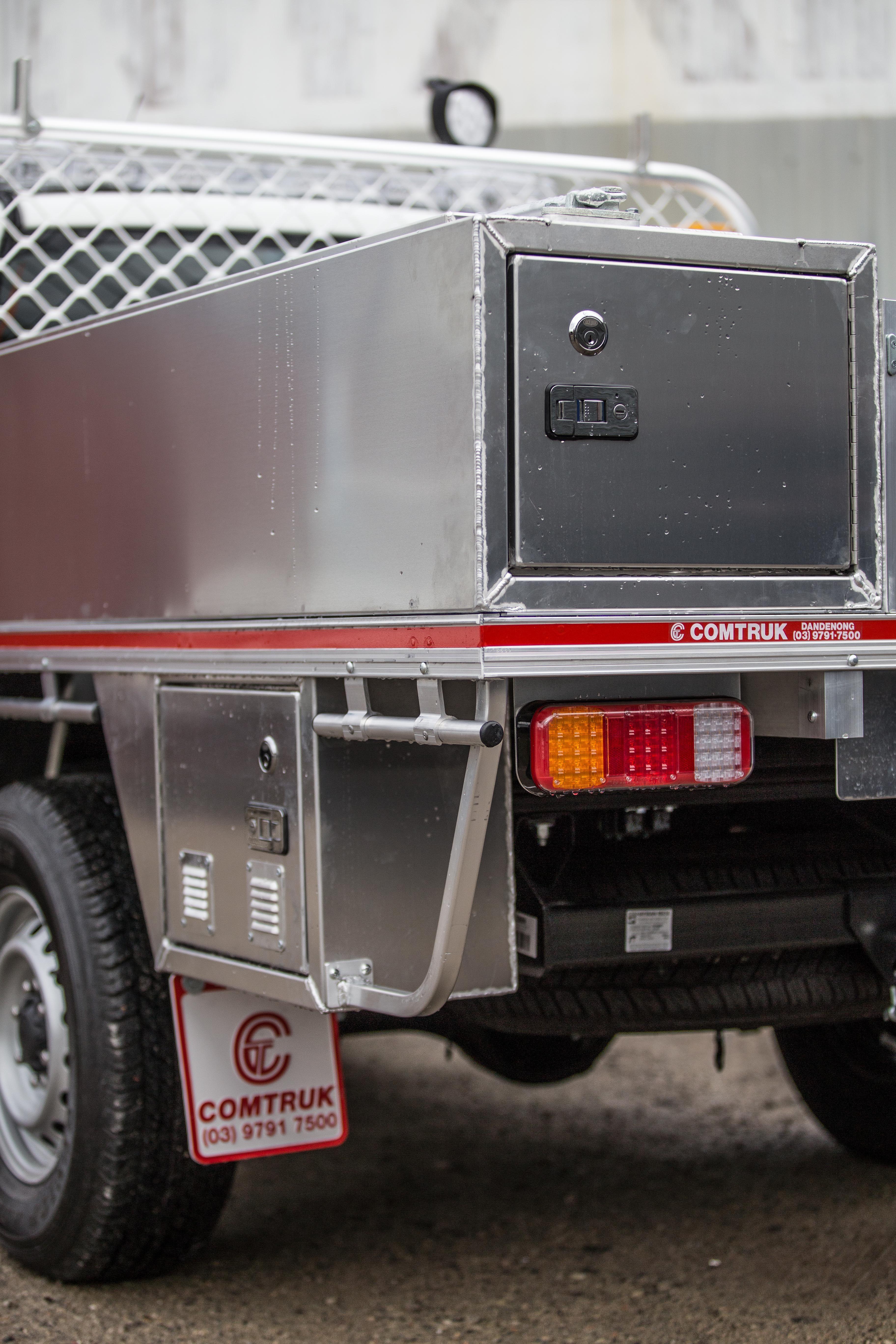 Custom ute tool box and tray by comtruk ute tray utility truck